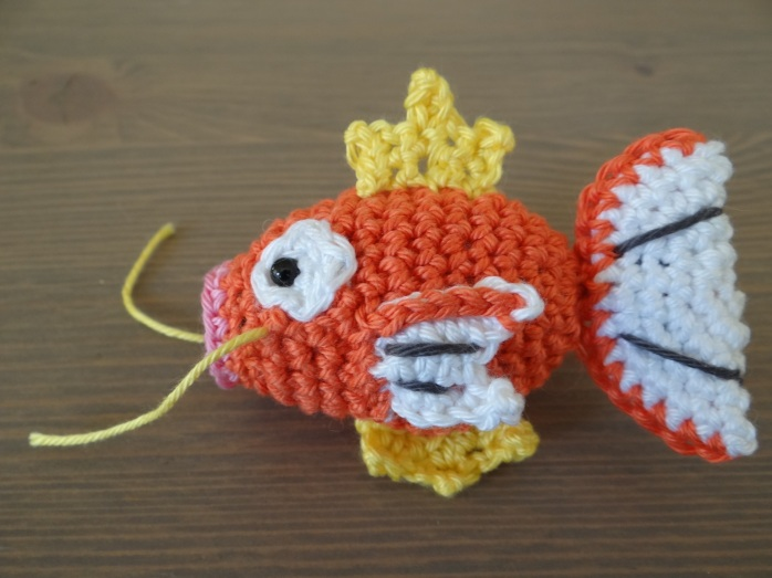 A wild Magikarp appeared!